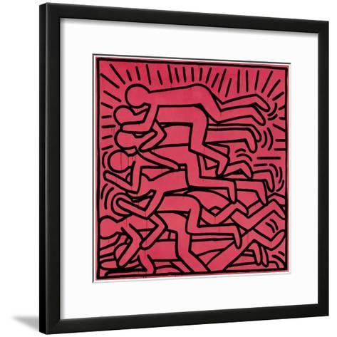 Untitled, 1982-Keith Haring-Framed Art Print