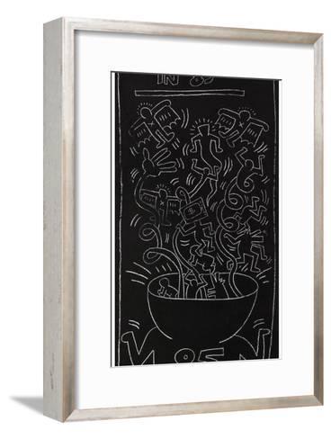Still Alive in 85-Keith Haring-Framed Art Print