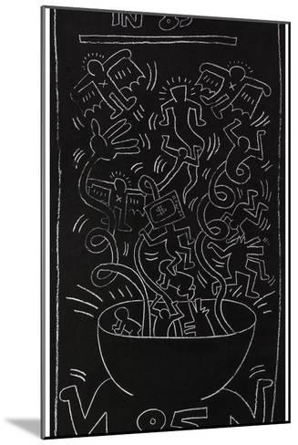 Still Alive in 85-Keith Haring-Mounted Giclee Print