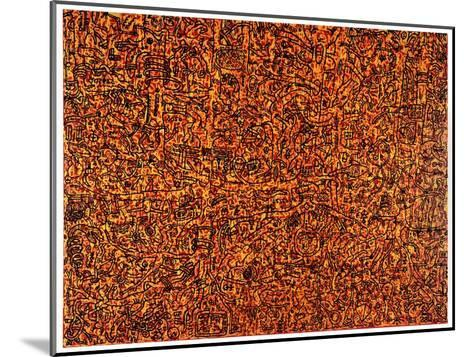 The Last Rainforest, 1989-Keith Haring-Mounted Giclee Print