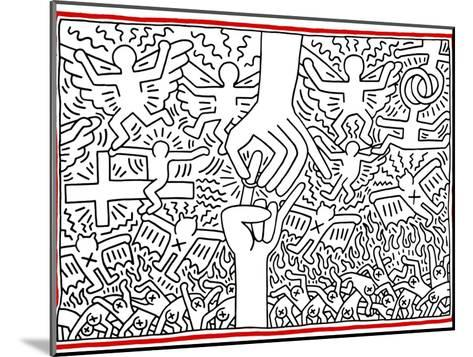 The Marriage of Heaven and Hell, 1984-Keith Haring-Mounted Giclee Print