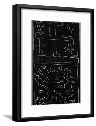 Untitled, 1983-Keith Haring-Framed Art Print