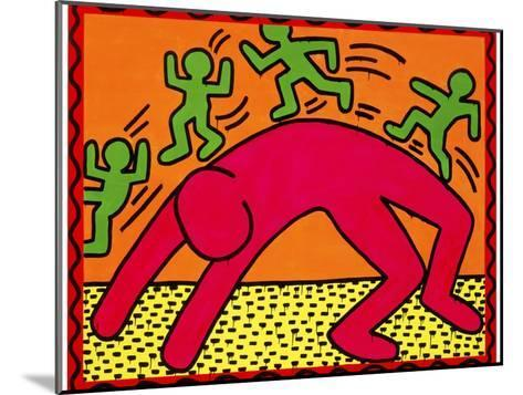 Untitled, October 7, 1982-Keith Haring-Mounted Giclee Print
