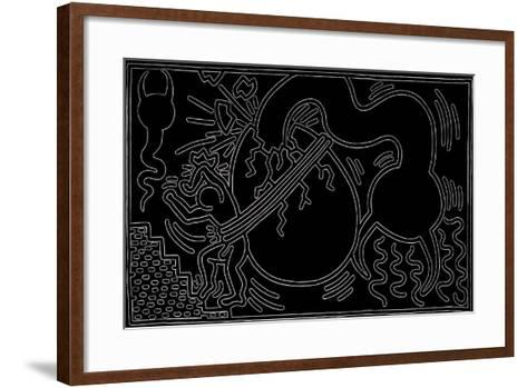 Untitled, 1988-Keith Haring-Framed Art Print