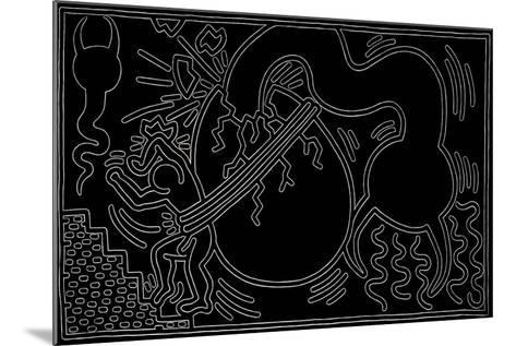Untitled, 1988-Keith Haring-Mounted Giclee Print