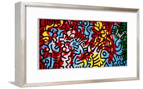 Untitled-Keith Haring-Framed Art Print