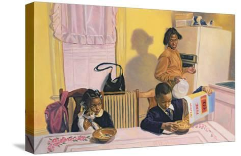 Before School, 1991-Colin Bootman-Stretched Canvas Print