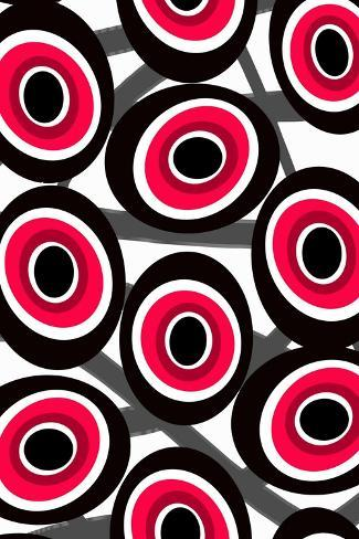 Fashion Spots-Louisa Knight-Stretched Canvas Print