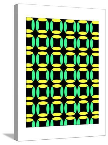 Boxes-Louisa Knight-Stretched Canvas Print