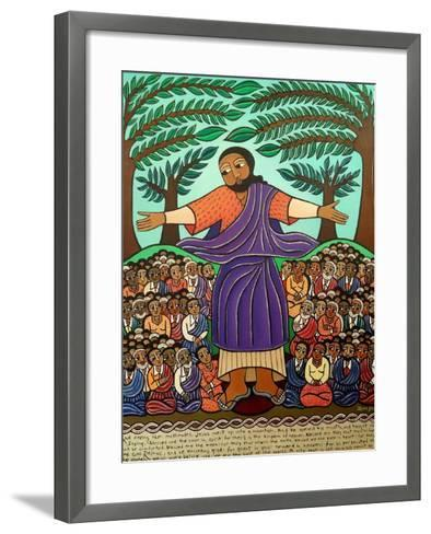 Sermon On The Mount, 2010-Laura James-Framed Art Print