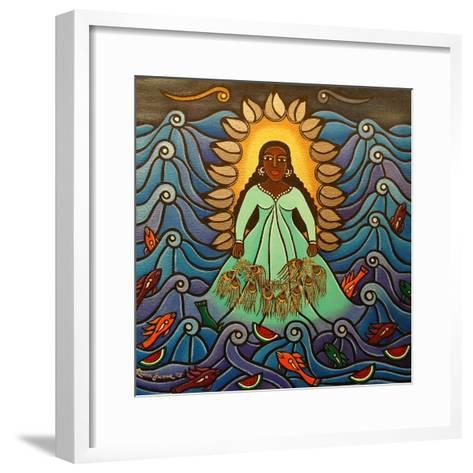 Yemaya, 2010-Laura James-Framed Art Print