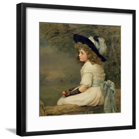 A Daughter of Eve, Pears Annual, Christmas, 1899-Edward Patry-Framed Art Print