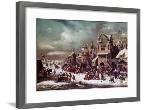 Winter Landscape-Rutger Verburgh-Framed Art Print