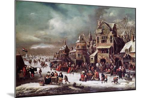 Winter Landscape-Rutger Verburgh-Mounted Giclee Print
