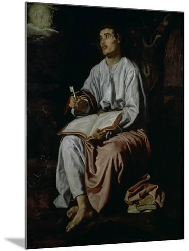 St. John the Evangelist on the Island of Patmos, c.1618-Diego Velazquez-Mounted Giclee Print