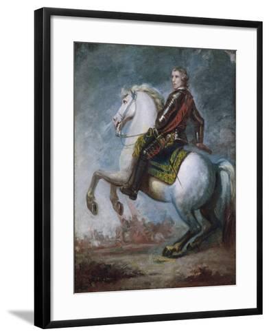 Sir Jeffrey Amherst (1717-97) c.1768-Sir Joshua Reynolds-Framed Art Print