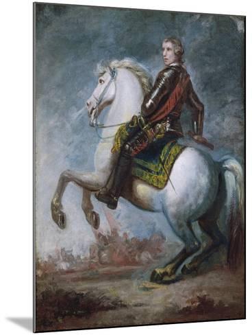 Sir Jeffrey Amherst (1717-97) c.1768-Sir Joshua Reynolds-Mounted Giclee Print