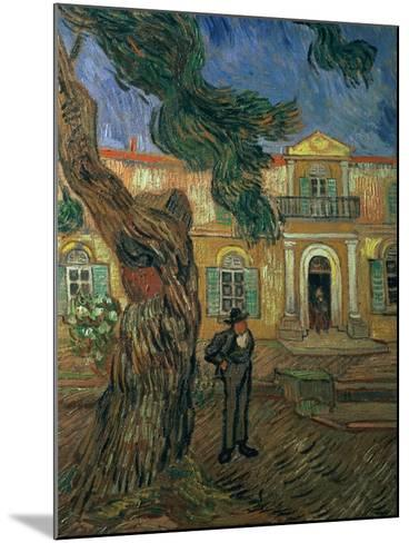 St. Paul's Hospital, St Remy, 1889-Vincent van Gogh-Mounted Giclee Print