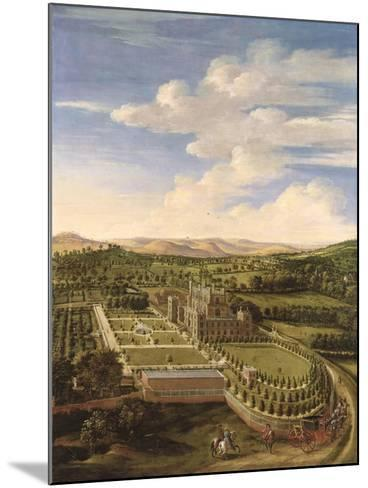 Wollaton Hall and Park, Nottingham, 1697-Jan Siberechts-Mounted Giclee Print
