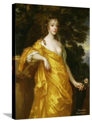 Diana Kirke, Later Countess of Oxford, c.1665-70-Sir Peter Lely-Stretched Canvas Print