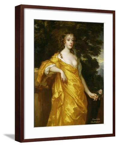 Diana Kirke, Later Countess of Oxford, c.1665-70-Sir Peter Lely-Framed Art Print