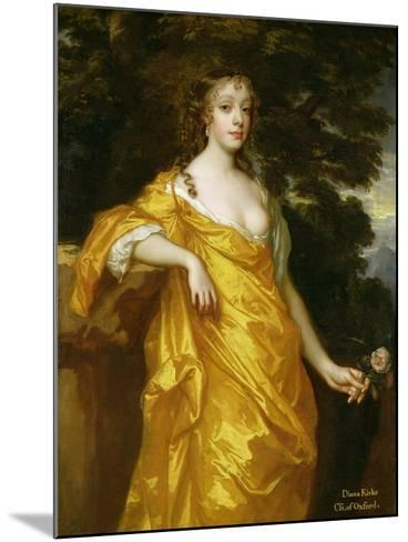Diana Kirke, Later Countess of Oxford, c.1665-70-Sir Peter Lely-Mounted Giclee Print