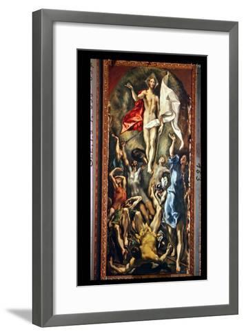 The Resurrection, 1584-94-El Greco-Framed Art Print