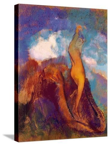 The Birth of Venus, 1912 (Pastel on Paper)-Odilon Redon-Stretched Canvas Print