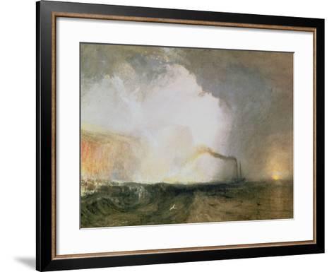 Staffa, Fingal's Cave, 1832-J^ M^ W^ Turner-Framed Art Print