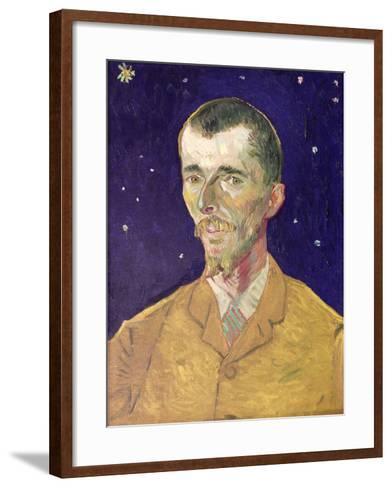 Portrait of Eugene Boch (1855-1941) 1888-Vincent van Gogh-Framed Art Print