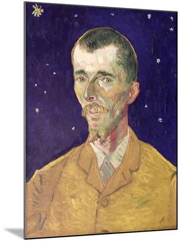 Portrait of Eugene Boch (1855-1941) 1888-Vincent van Gogh-Mounted Giclee Print