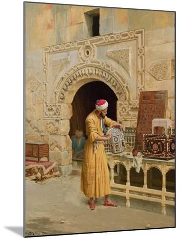 The Furniture Maker-Ludwig Deutsch-Mounted Giclee Print