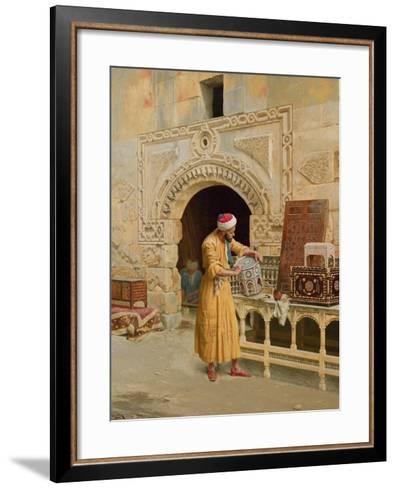 The Furniture Maker-Ludwig Deutsch-Framed Art Print