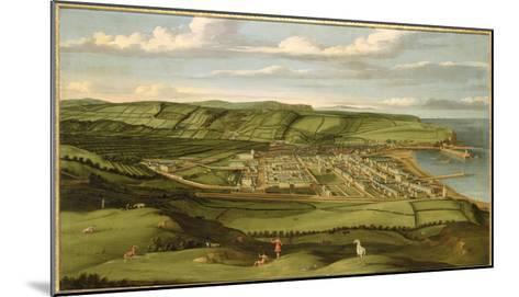 Whitehaven, Cumbria, Showing Flatt Hall, c.1730-35-Matthias Read-Mounted Giclee Print