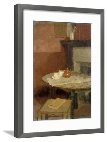 The Brown Tea Pot, 1915-16-Gwen John-Framed Art Print