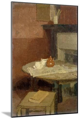 The Brown Tea Pot, 1915-16-Gwen John-Mounted Giclee Print