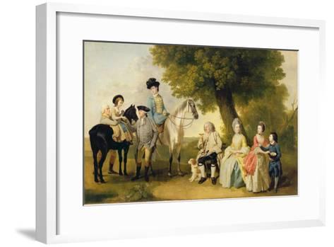 The Drummond Family, c.1769-Johann Zoffany-Framed Art Print