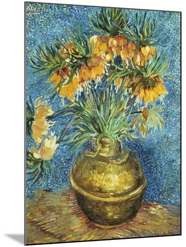 Crown Imperial Fritillaries in a Copper Vase, 1886-Vincent van Gogh-Mounted Giclee Print