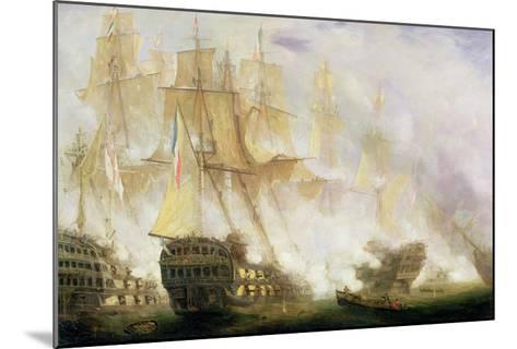 The Battle of Trafalgar, c.1841-John Christian Schetky-Mounted Giclee Print