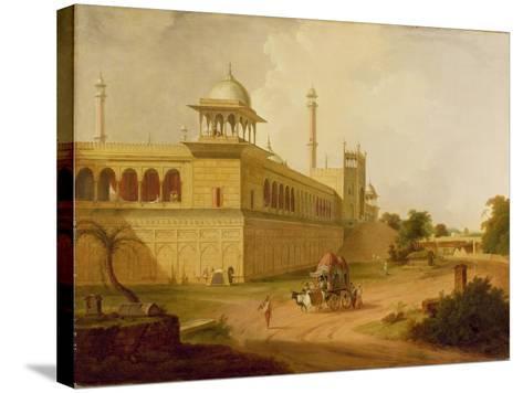 Jami Masjid, Delhi, 1811-Thomas Daniell-Stretched Canvas Print