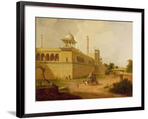 Jami Masjid, Delhi, 1811-Thomas Daniell-Framed Art Print