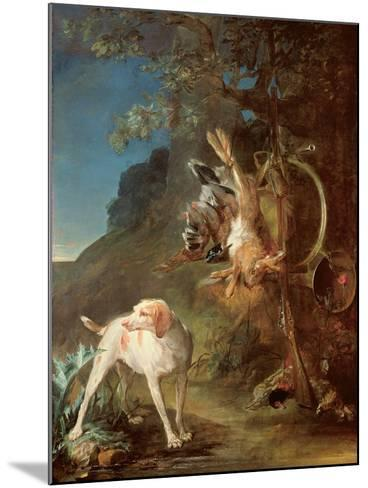 Dog and Game, 1730-Jean-Baptiste Simeon Chardin-Mounted Giclee Print