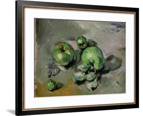 Green Apples, c.1872-73-Paul C?zanne-Framed Art Print