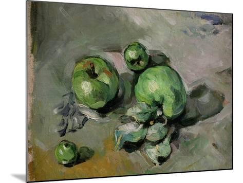 Green Apples, c.1872-73-Paul C?zanne-Mounted Giclee Print