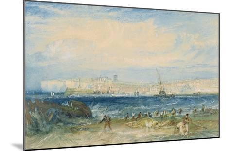 Margate, C.1822 (W/C and Scraping Out on Wove Paper)-J^ M^ W^ Turner-Mounted Giclee Print