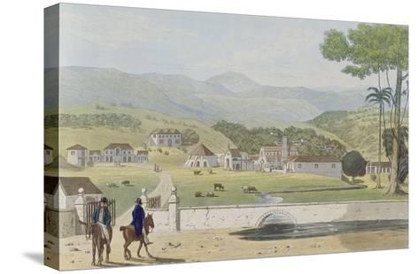 Montpelier Estates, St James, from 'A Picturesque Tour of the Island of Jamaica'-James Hakewill-Stretched Canvas Print