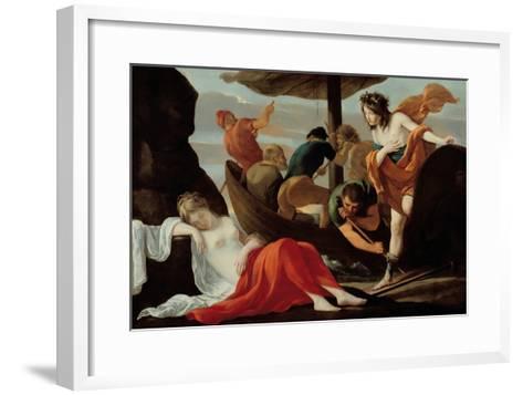 Bacchus Discovering Ariadne on Naxos-Louis Le Nain-Framed Art Print