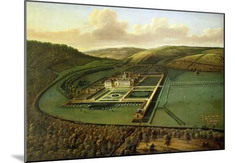 The Southeast Prospect of Hampton Court, Herefordshire, c.1699-Leonard Knyff-Mounted Giclee Print