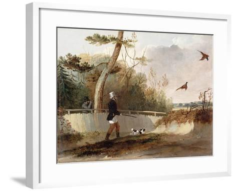 Pheasant Shooting-Samuel John Egbert Jones-Framed Art Print