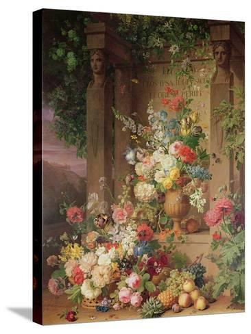 The Tomb of Julie, 1803-Jan Frans van Dael-Stretched Canvas Print
